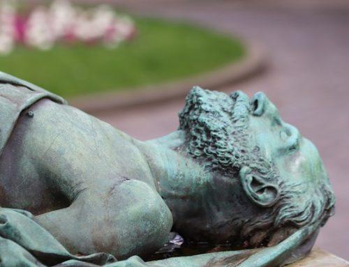 Le gisant et l'histoire de Fabien